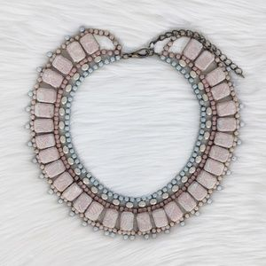 Mimmi & Kinki Pink Lace Collar Necklace